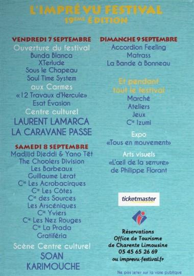 Calitom Calendrier 2019.Le Site Officiel De La Mairie De Montemboeuf 7 8 9 Septembre